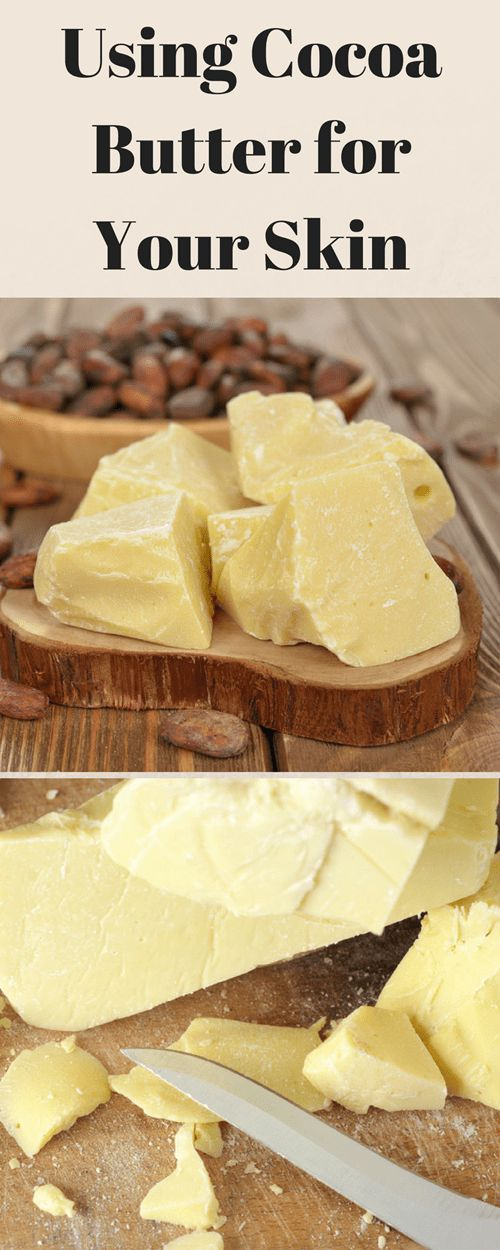 Using Cocoa Butter for Your Skin