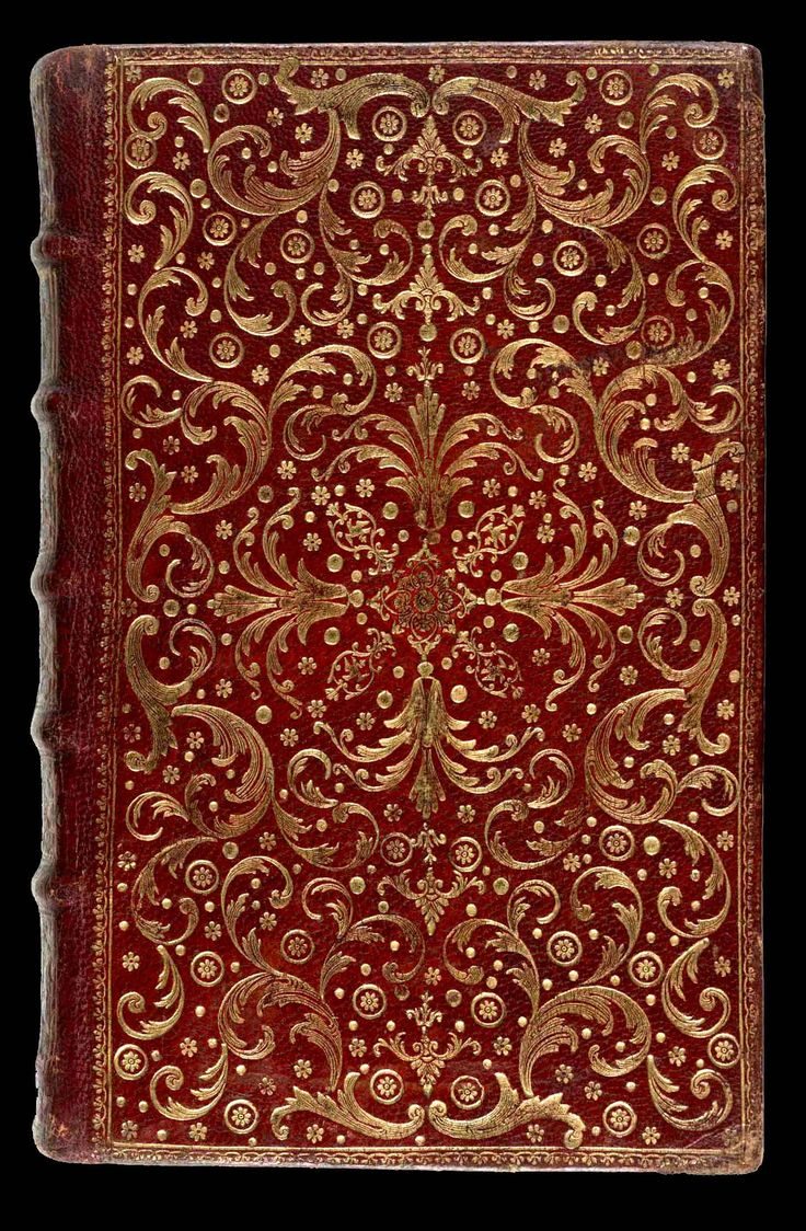 French Decorative Bookbinding - Eighteenth Century. Pierre-Paul Dubuisson (fl 1746-1762)