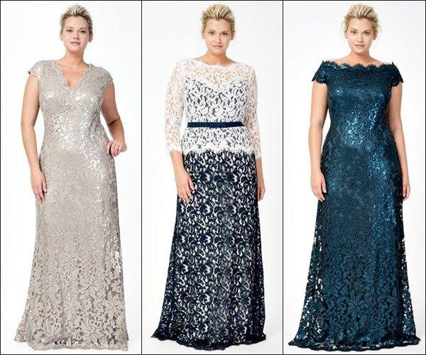 mother of the bride dresses tea length plus size - Google Search