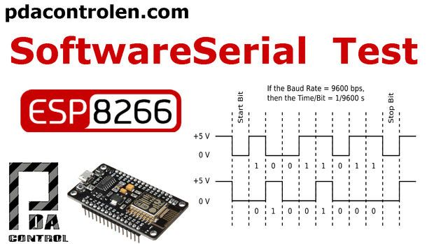 ESP8266 Two Serial Ports With SoftwareSerial Library