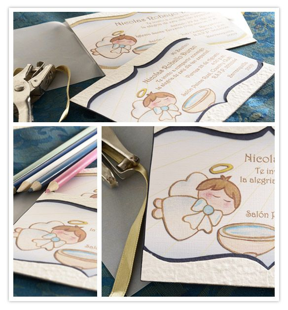 tarjeta de bautismo