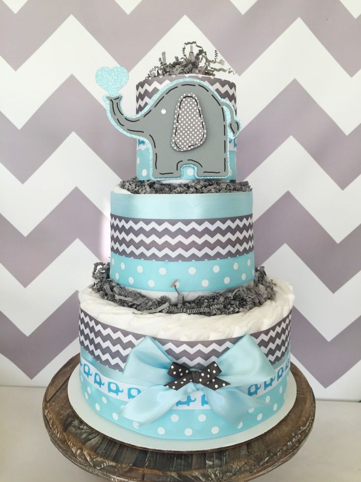 Baby Elephant Cake Decoration : 115 best Elephant Baby Shower images on Pinterest ...