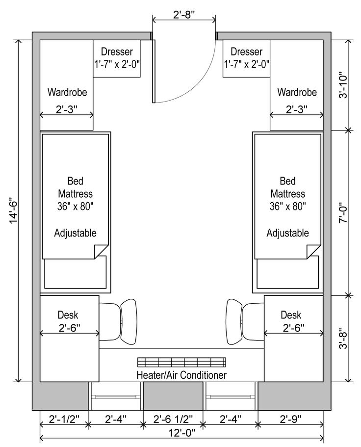 Brumby Hall Standard Plan Uga Housing Kawlege