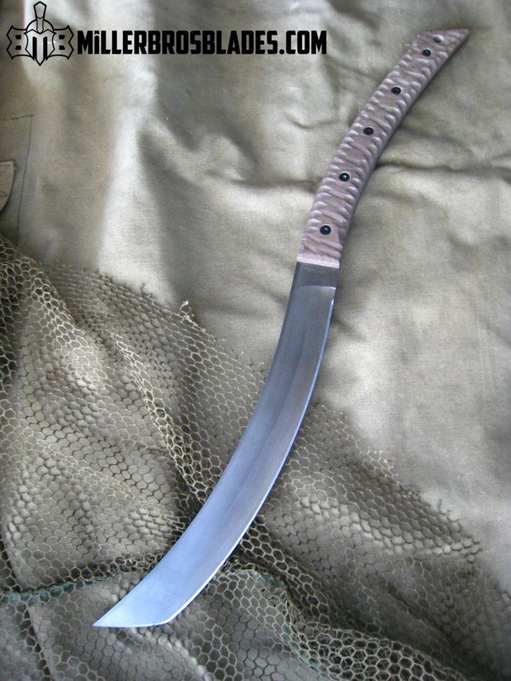Options available on Standard and custom order knives and swords.