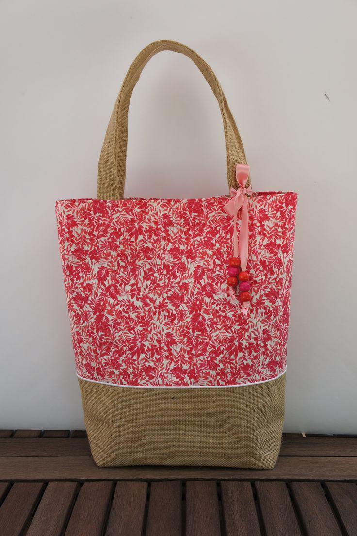 Les 25 meilleures id es concernant sacs de jute sur for De tissus en couture