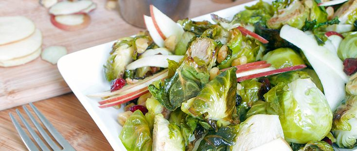 Salad doesn't have to mean iceberg lettuce. Spice up the holidays with a sweet and salty Brussels sprouts salad recipe, packed with vitamins and flavor.