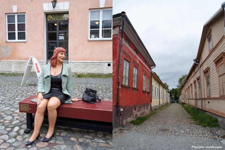 Marjon matkassa : Lumoava Vanha Rauma