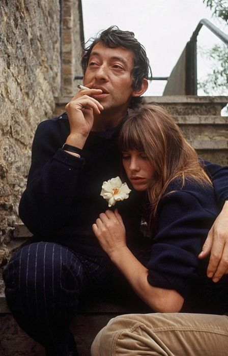 Jane birkin and serge gainsbourg. www.lab333.com  https://www.facebook.com/pages/LAB-STYLE/585086788169863  http://www.labstyle333.com  www.lablikes.tumblr.com  www.pinterest.com/labstyle