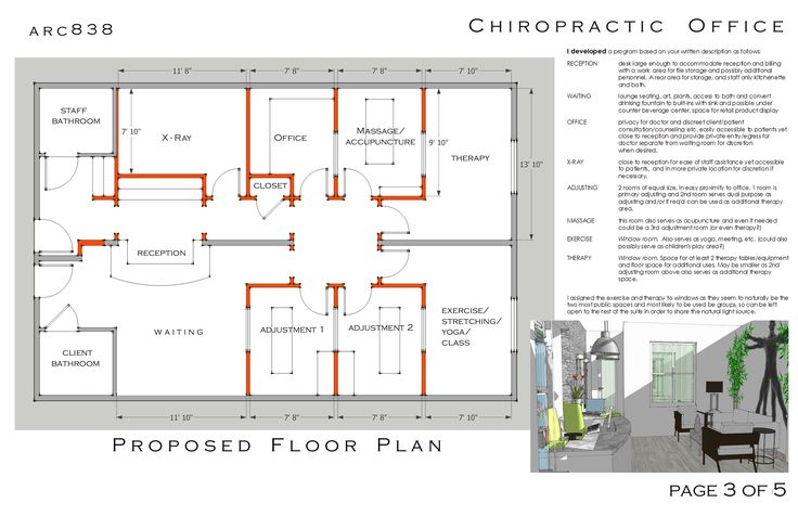 chiropractic office design pictures | Design Project designed by James Foster - Chiropractic Office ...