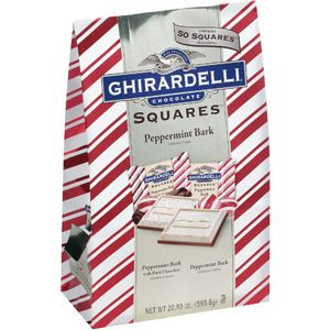 Ghirardelli Chocolate Squares Peppermint Bark, 20.99 oz