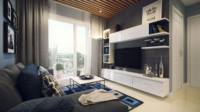 Дизайн маленькой уютной квартиры - Дизайн интерьеров | Идеи вашего дома | Lodgers