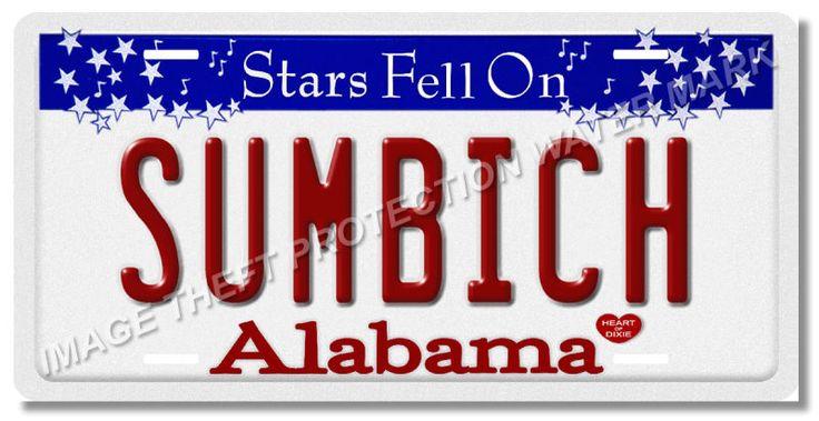 Alabama License Plates & Placards Information   DMV.ORG