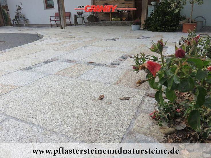 """Firma B&M GRANITY – """"Antikplatten"""", """"Antik-Platten"""", """"Gredplatten"""" aus Granit (frostbeständig, diverse Formate). Das sind neue Platten, die von uns speziell, technologisch veraltet werden.  http://www.pflastersteineundnatursteine.de/fotogalerie/alte-gebrauchte-natursteine/"""