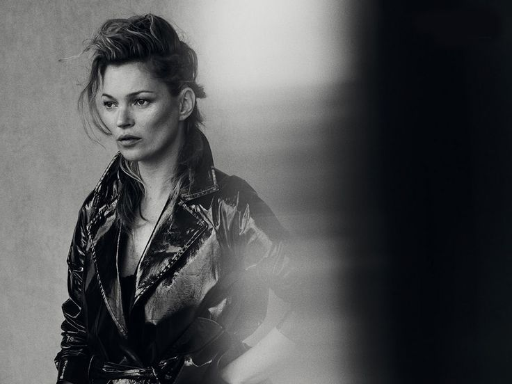 Kate Moss by Peter Lindbergh for Vogue Italia January 2015.