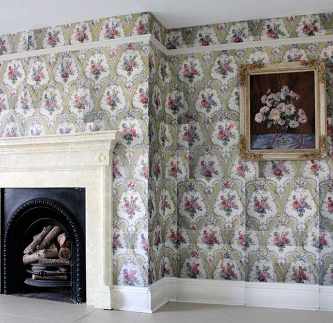 Instant Heritage—New Wallpaper from Deborah Bowness : Remodelista