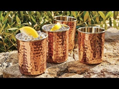 #HealthyLivingTips SEE WHAT HAPPENS IF YOU DRINK WATER STORED IN COPPER VESSELS! #NaturalCure #Health