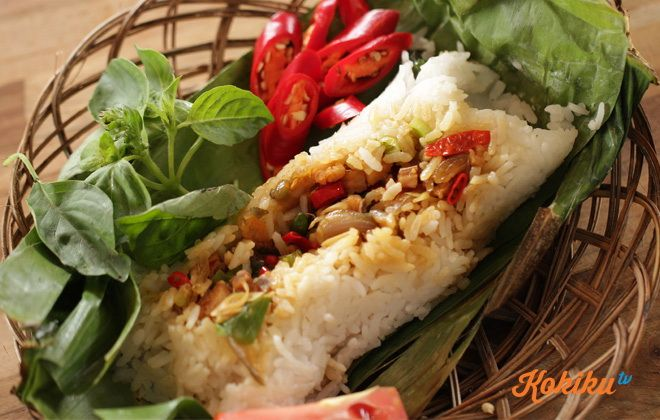 Nasi Bakar Ikan Jambal