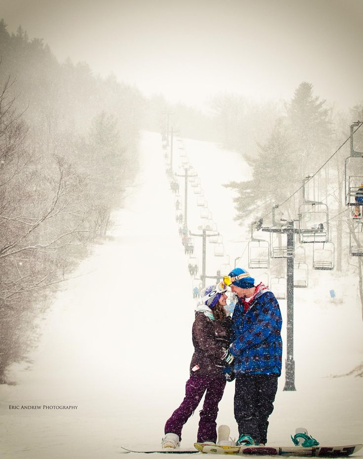 Snowboarding engagement photo shoot by Eric Snyder on 500px