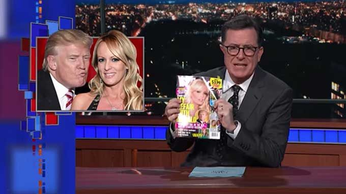 Colbert reads porn star Stormy Daniels sex affair with Trump  ||  In 2011, before she signed her non-disclosure agreement with Trump, porn actress Stormy Daniels gave a detailed account of her 2006 sex affair with Trump to InTouch magazine. During last night&#821… https://boingboing.net/2018/01/18/colbert-reads-porn-star-stormy.html?utm_campaign=crowdfire&utm_content=crowdfire&utm_medium=social&utm_source=pinterest