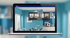 Dulux App! Helps you visualise colours for your home.