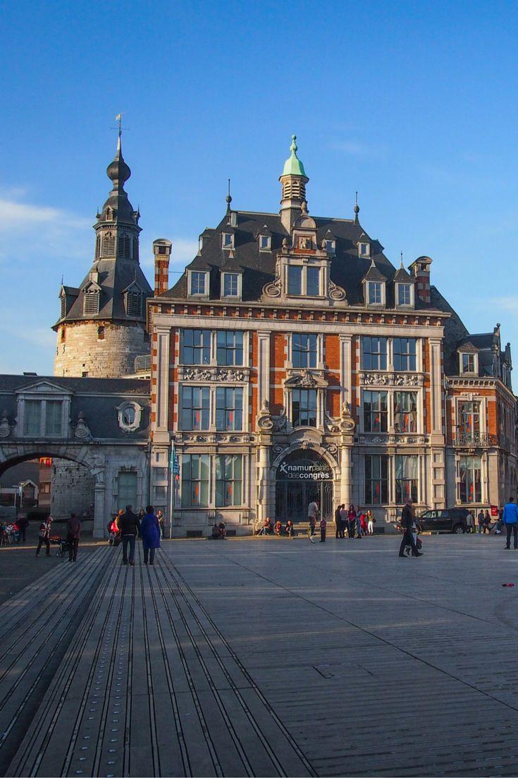 Belgian belfry (Unesco) in Namur, Belgium. Belfries originated in Belgium   Beffroi de Namur en Belgique