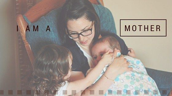 I am a Mother: finding joy in my work: