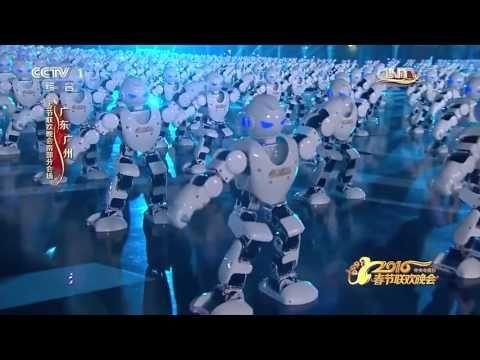 Gelukkig Chinees nieuw jaar! Hier zijn een miljoen miljard Chinese Robots!