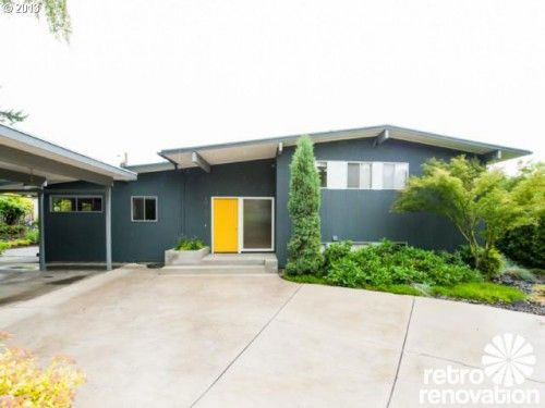 OMG WANT: Midcentury modern time capsule house in Portland, Oregon - Retro Renovation