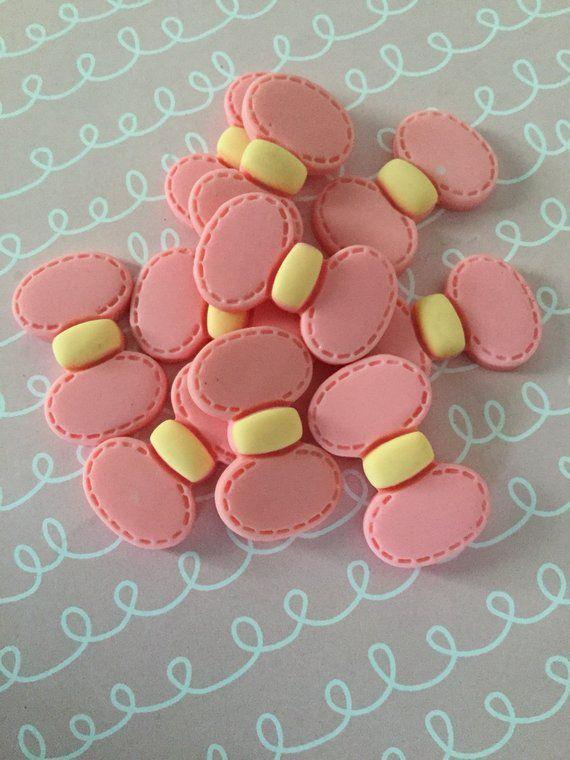 6pcs Bakery Patiserrie Resin Flatback Cabochons Embellishment Decoden Card Craft