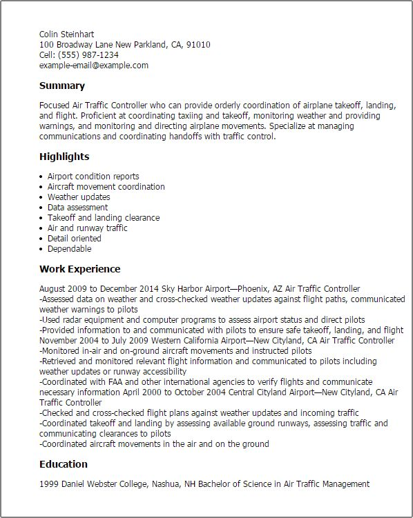 air-traffic-controllerpng (598×751) AIR TRAFFIC RESUME Pinterest - air traffic controller resume