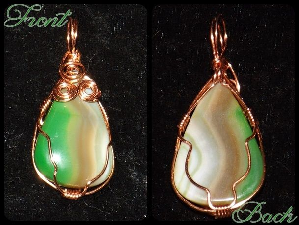 Wire Wrapped Cabochon