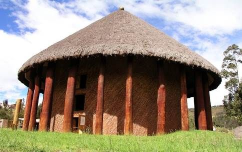 Simulaciòn Templo de Sugamuxi. Wikipedia.