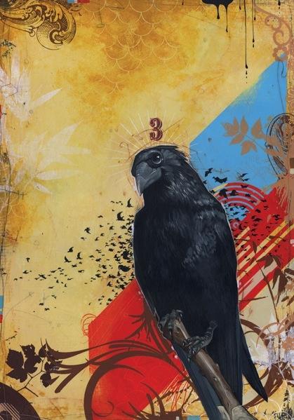 Blaine Fontana-Grandfather Raven