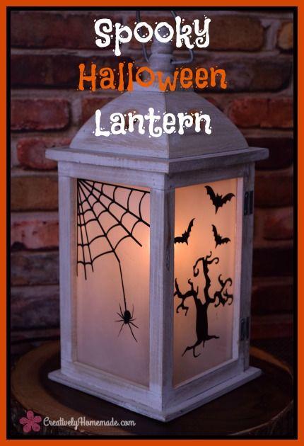 scary halloween lantern
