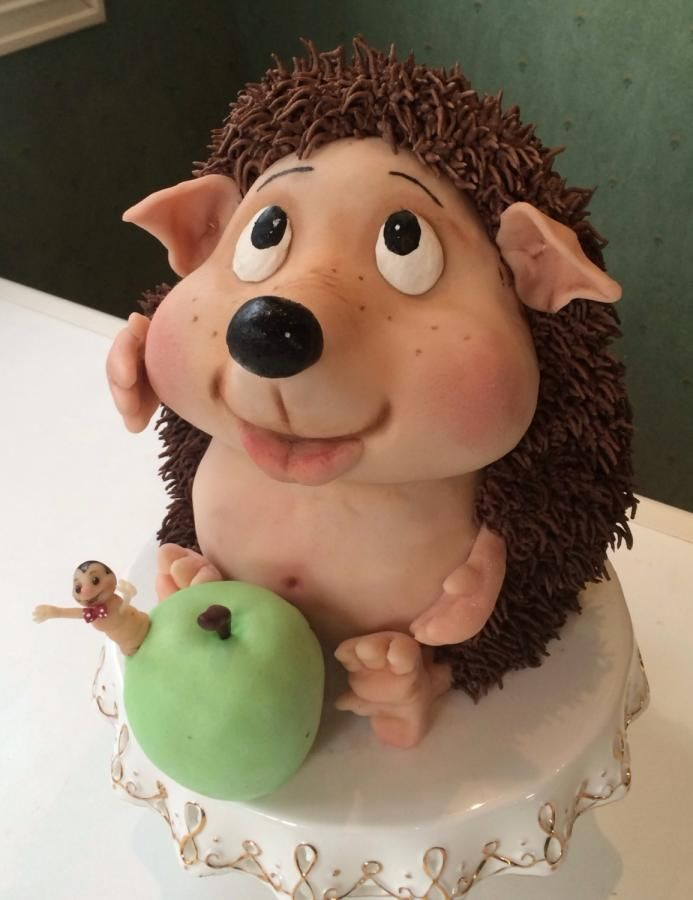 Hedgehog cake - totallllyyy adorbs