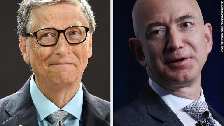 Jeff Bezos just passed Bill Gates for world's richest person - Oct. 27, 2017