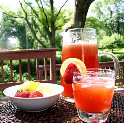 Strawberry Lemonade and Oolong Iced Tea. The Woks of Life