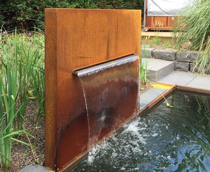 Die besten 25+ Wasserbecken garten Ideen auf Pinterest - edelstahl teichbecken rechteckig