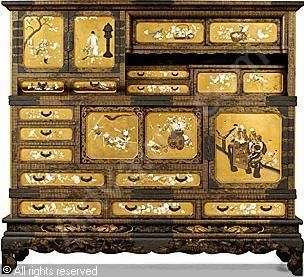 MEIJI PERIOD - Display cabinet