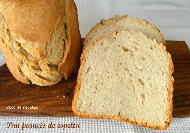 Pan francés crujiente en panificadora - Trigo vs. Espelta