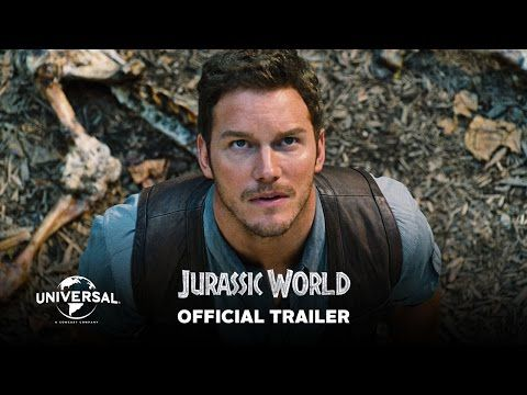 OMGGGGGG!!!!!! IT'S HERE!!!!!! The official trailer for Jurassic World has arrived!!!! I can already hear the theme music playing in my head.