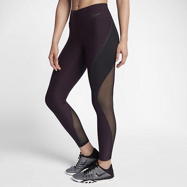 Damskie legginsy treningowe ze średnim stanem Nike Power Legend 71 cm
