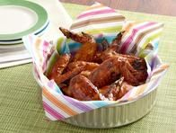 Orange Glazed Chicken Wings