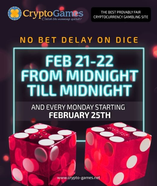 Crypto-games net No Speed Limit Event! Enjoy lightning fast betting
