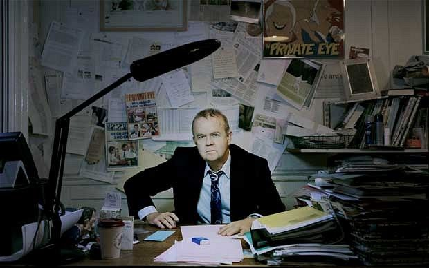 Ian Hislop in his office at Private Eye: 'I do have a residual belief that, if at all possible, you should try not to mock the weak'
