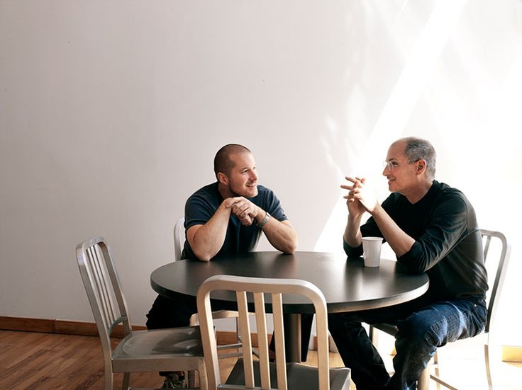Jony Ive & Steve Jobs by Art Streiber