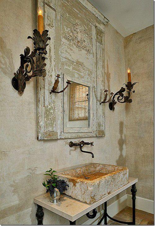 Antique White Bathroom Sink