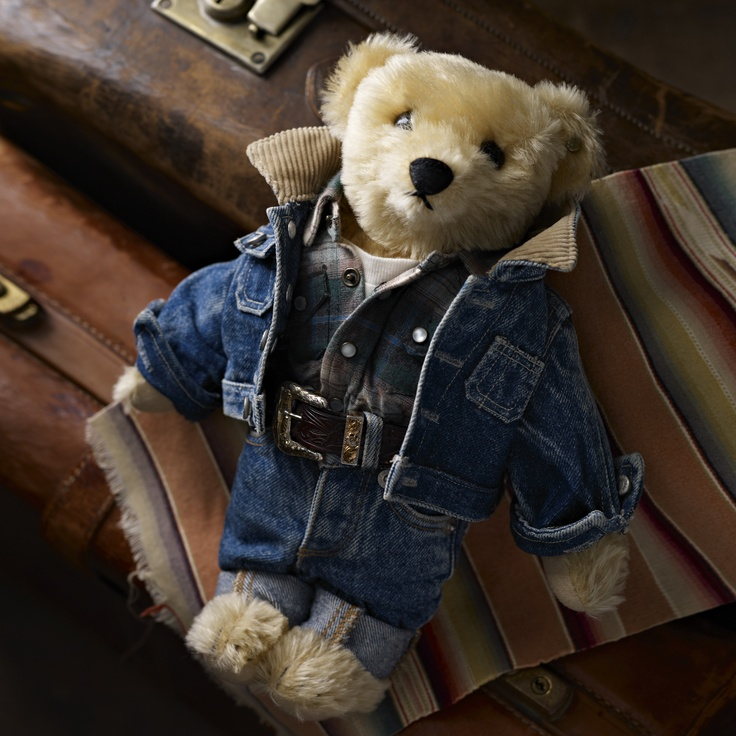 The 1993 Polo Bear sports Western and workwear features that have come to define Double RL