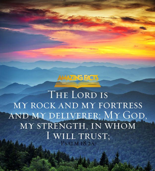Psalms 18:2 - Scripture Picture