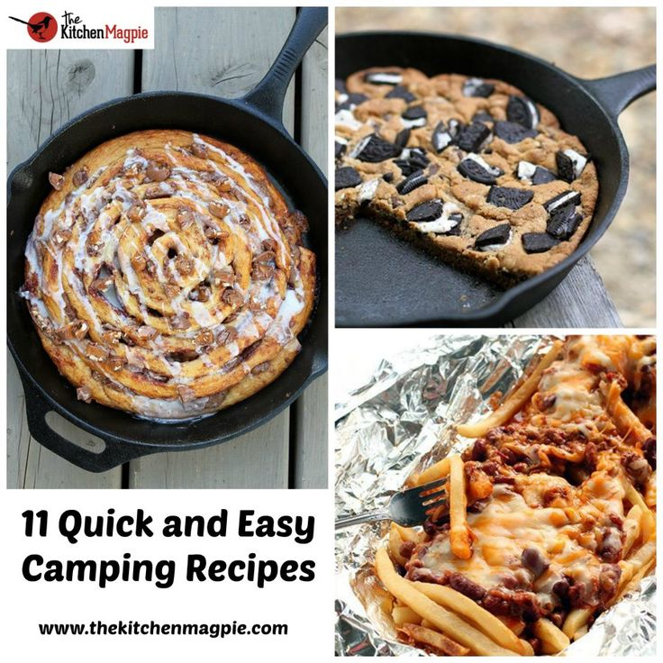 If it's one thing Karlynn is incredibly good at, it's coming up with delicious recipes and fun creations to enjoy when we're out at our trailer. Whether it's a delicious dessert or a mouth watering meal, there's something for everyone in this list.Today, I'm going to share with you some of my favorite camping recipes …